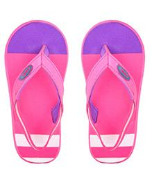 Beanz Flip Flops With Back Strap - Pink Purple
