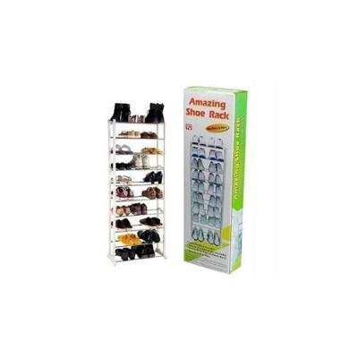 Global Amazing Portable 10 Tier Shoe Rack for footwear
