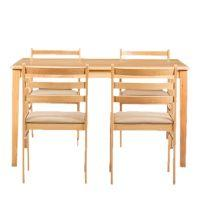 HomeWorld Candy Four Seater dinning Table