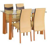 NRK Furniture And Timber home by Nilkamal Tavern Solid Wood Dining Set(Finish Color - NA)