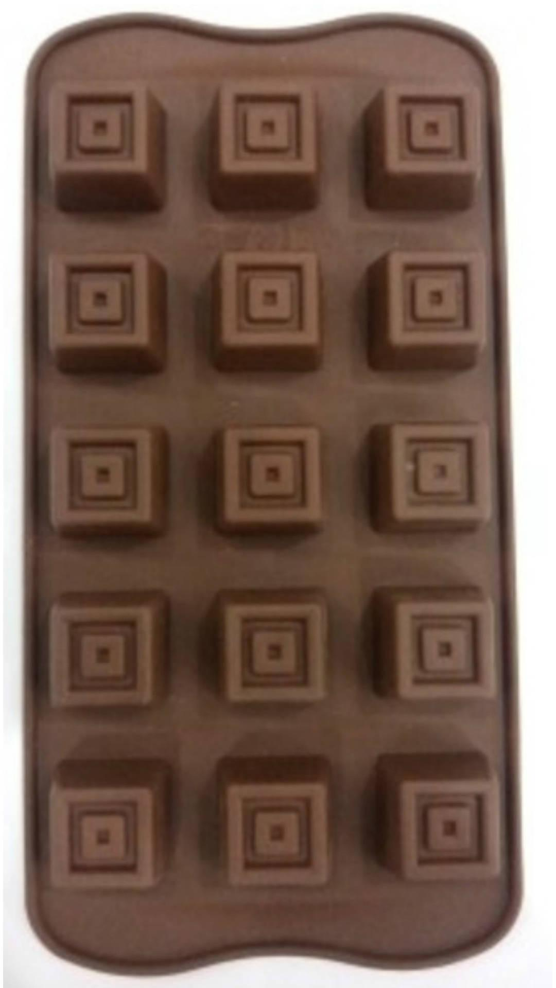 Kewlcakes Chocolate Candy Jelly Muffin Cake Baking Mould In Square Cube Shape