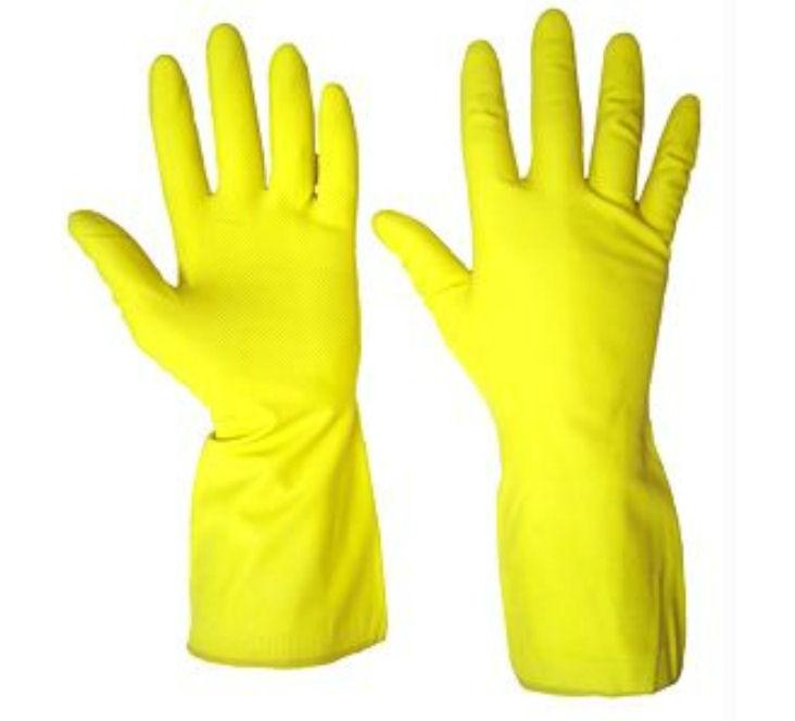 Rubber Hand Gloves Set Of 5