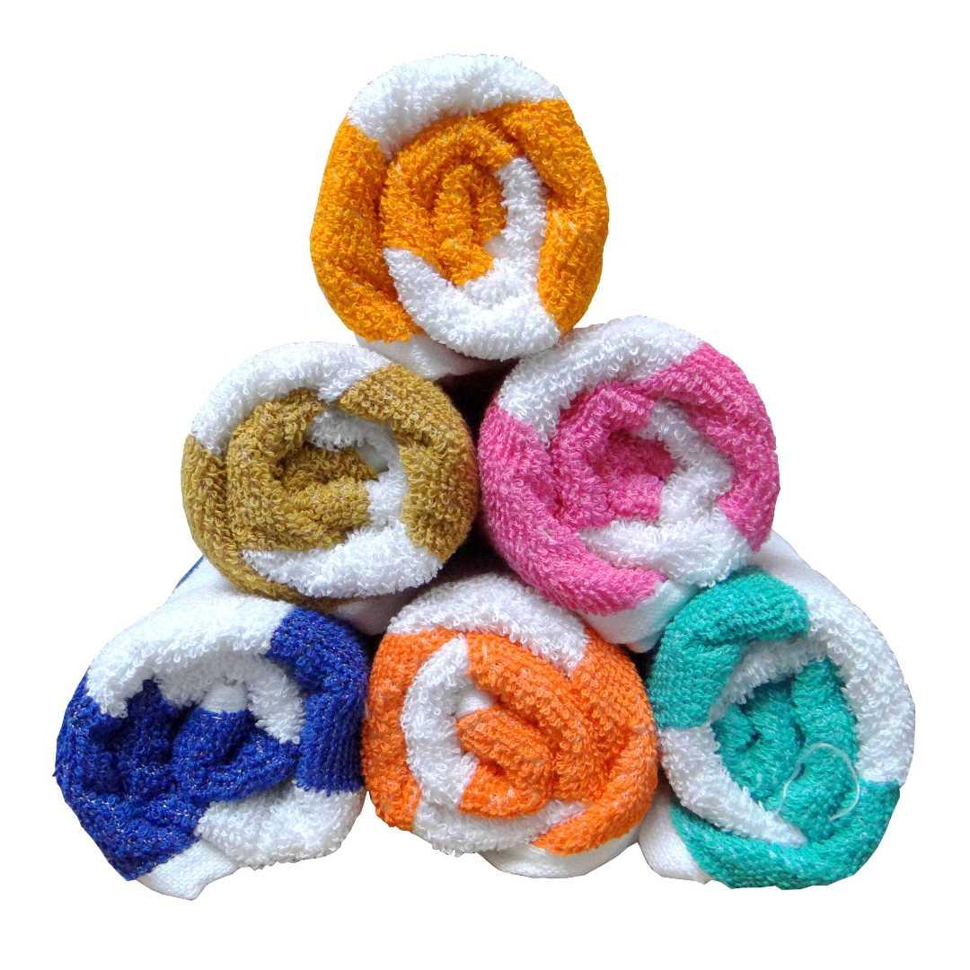 Bpitch Cabana Hand Towels - Pack of 6