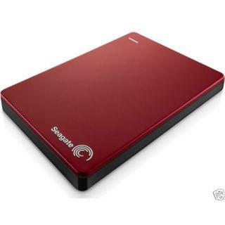Seagate Backup Plus Slim 2 TB External Hard Disk (Red)