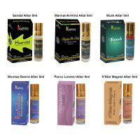 KAZIMA Fancy Fragrance Unisex Attar Perfume combo (6 Pcs Pack of 8ML Roll On) Free From Alcohol