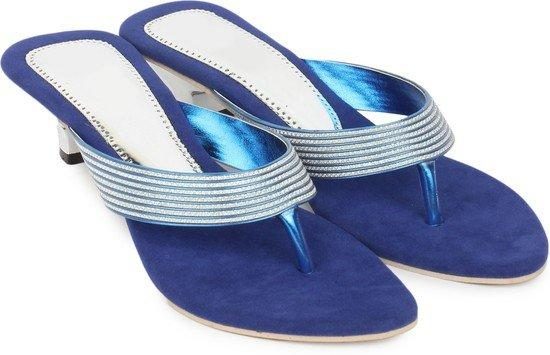 Star Style STS_0014_BlUE Synthetic Party Heels