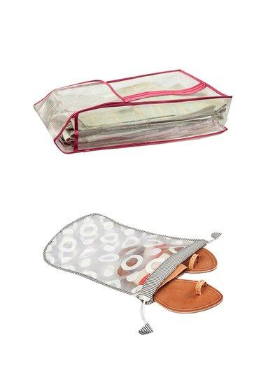 Fashionista Combo of Suit Cover and Slipper Bag(NM108+NM126)