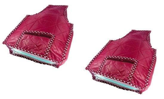Maroon Pack of 2 Parachute Blouse cover