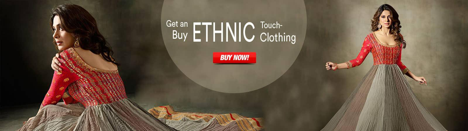 Ethnic Clothing Banner