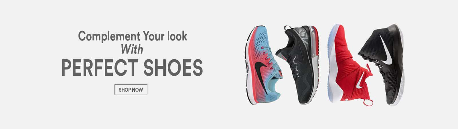 Men Shoes Banner