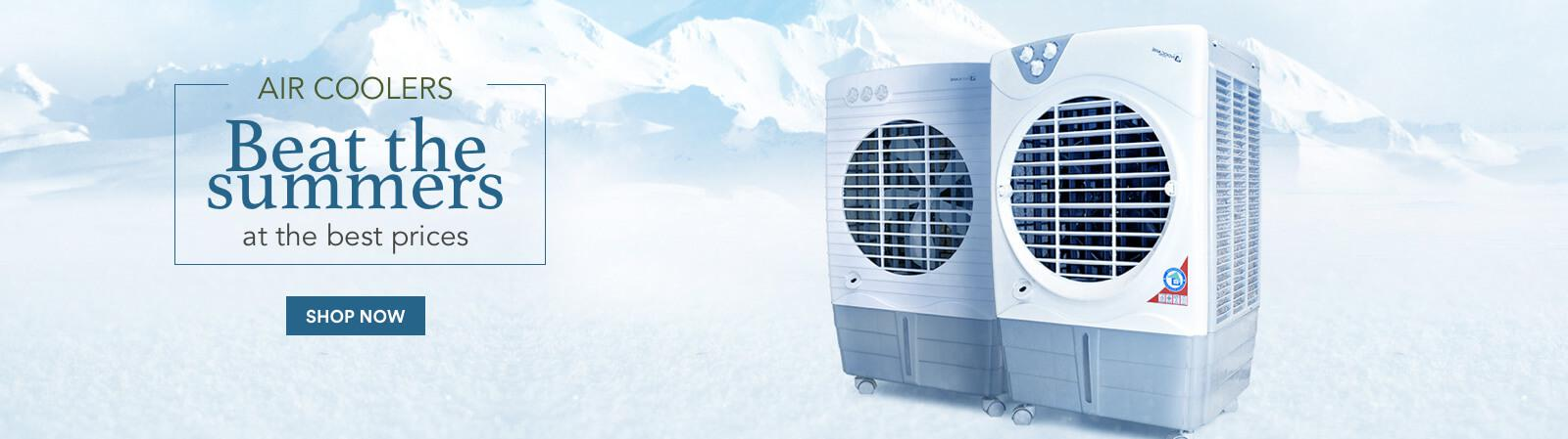 Air Coolers Banner